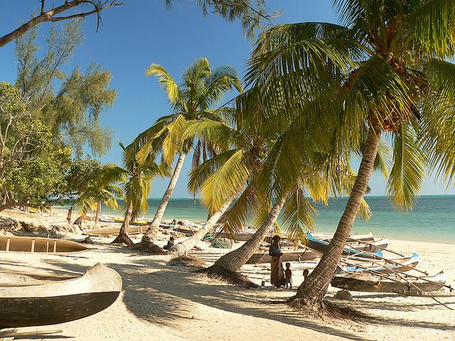 Madagaskarské pobrežie