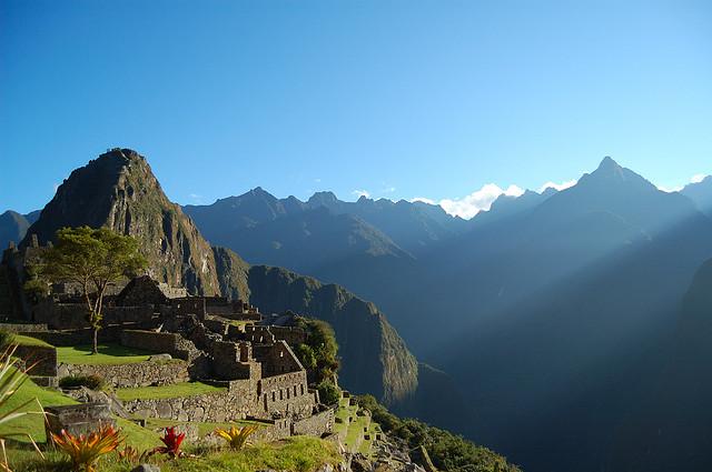 Peruánske Machu Picchu