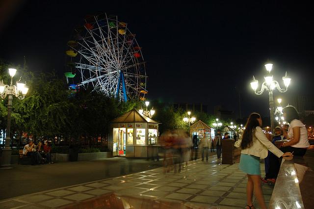 Nočný Vladivostok