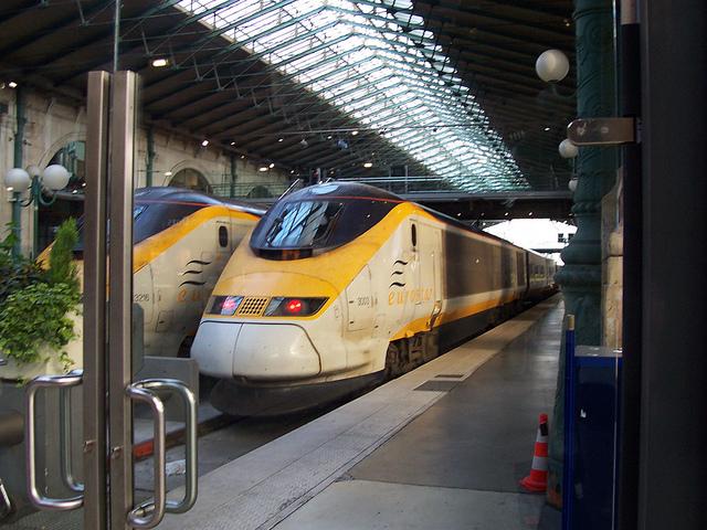 Eurostar v Paríži