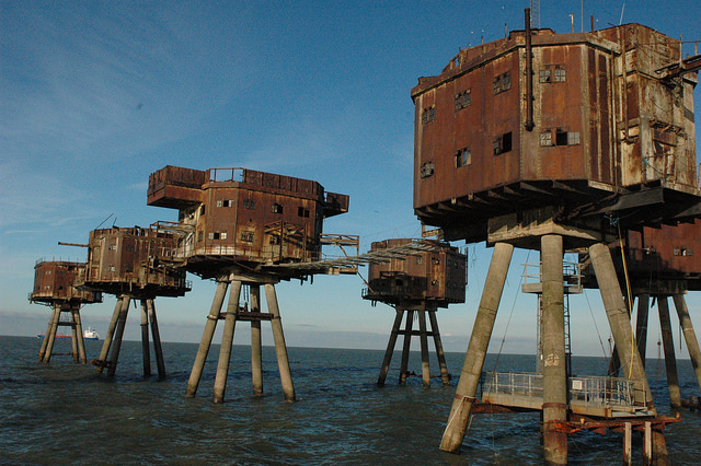 Redsand Forts