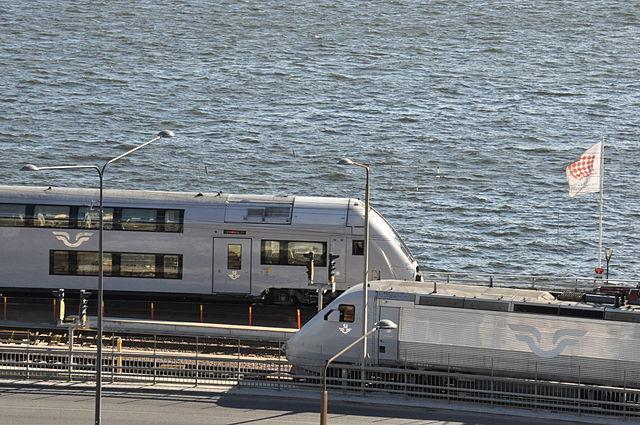 X2000 v Štokholme