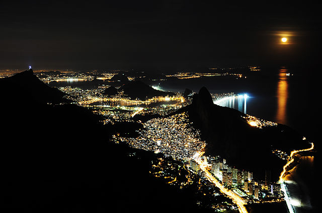 View from Pedra da Gavea