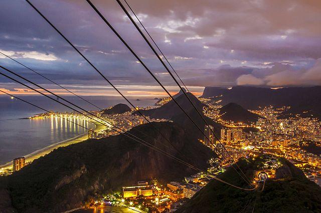 View from Pedra da Gavea