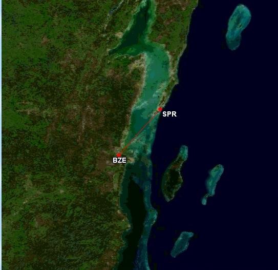 Belize City - Ambergris Caye