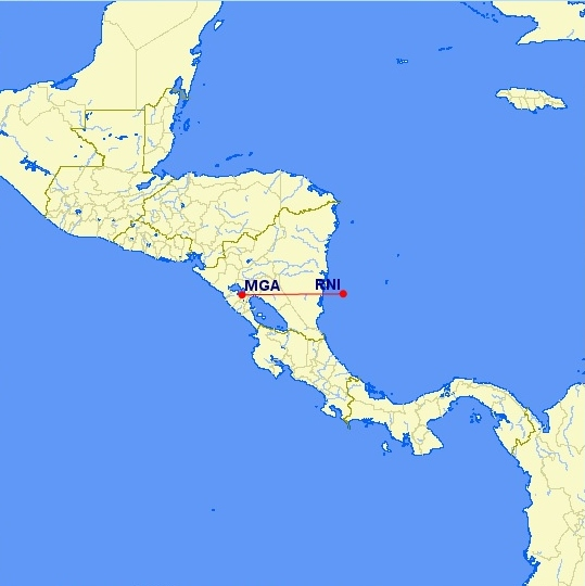 Managua - Corn Islands