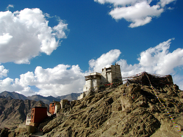 Old Fort above Leh