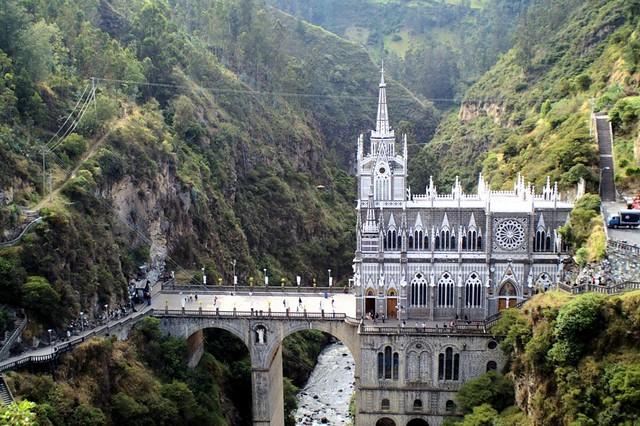 Las Lajas Cathedral
